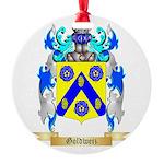 Goldweiz Round Ornament