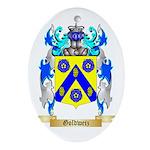 Goldweiz Ornament (Oval)