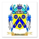 Goldvasser Square Car Magnet 3