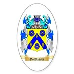 Goldvasser Sticker (Oval 50 pk)