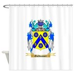 Goldvasser Shower Curtain