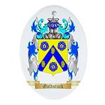 Goldstuck Ornament (Oval)