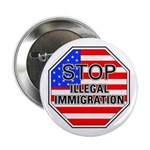 Stop Illegal Immigrants Button