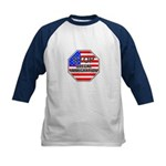 Stop Illegal Immigrants Kids Baseball Jersey