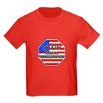 Stop Illegal Immigrants Kids Dark T-Shirt