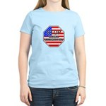 Stop Illegal Immigrants Women's Light T-Shirt