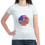 Stop Illegal Immigrants Jr. Ringer T-Shirt