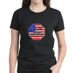Stop Illegal Immigrants Women's Dark T-Shirt