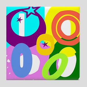 Initial Design (O) Tile Coaster