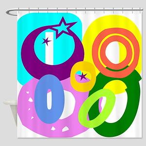 Initial Design (O) Shower Curtain