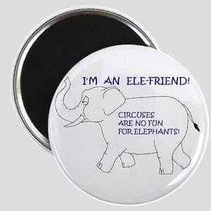 "2.25"" Ele-Friend Magnet (10 pack)"