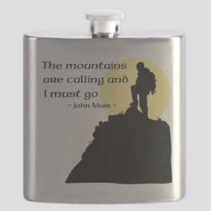 Mountains Calling Flask
