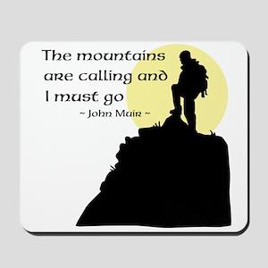 Mountains Calling Mousepad