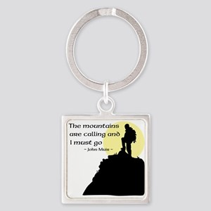 Mountains Calling Keychains