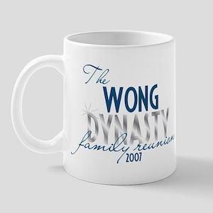 WONG dynasty Mug