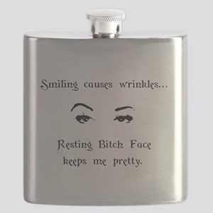 Resting Bitch Face Flask