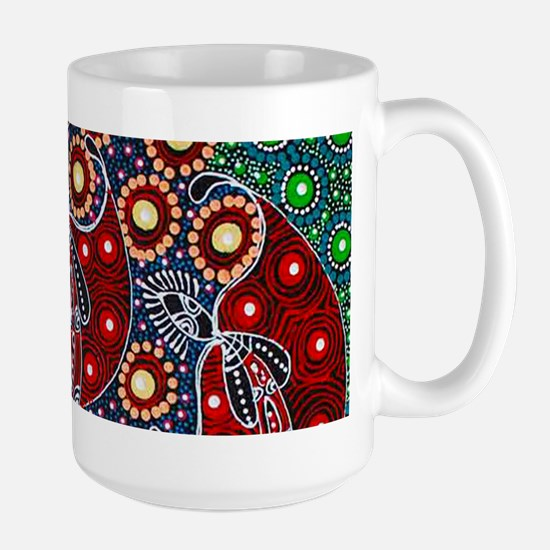 ABORIGINAL ART 4 Mugs