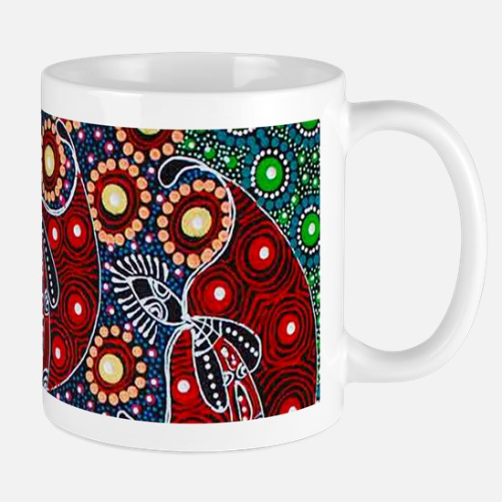 ABORIGINAL ART 4 Mugs
