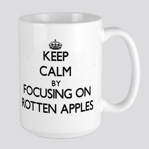 Keep Calm by focusing on Rotten Apples Mugs