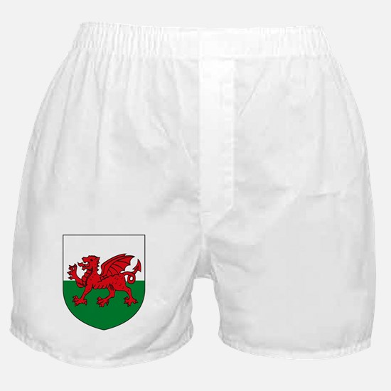 Wales Coat of Arms Boxer Shorts