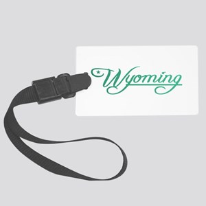 Wyoming State of Mine Luggage Tag