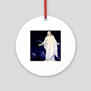 LDS Christus Ornament (Round)