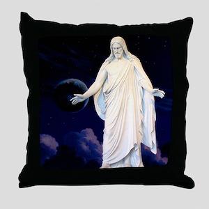 LDS Christus Throw Pillow