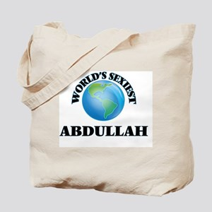 World's Sexiest Abdullah Tote Bag