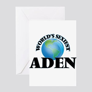 World's Sexiest Aden Greeting Cards