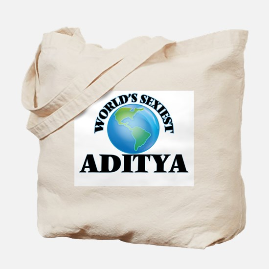 World's Sexiest Aditya Tote Bag