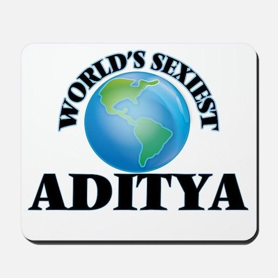 World's Sexiest Aditya Mousepad