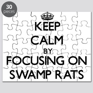 Keep Calm by focusing on Swamp Rats Puzzle