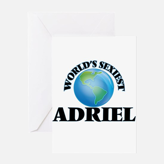 World's Sexiest Adriel Greeting Cards