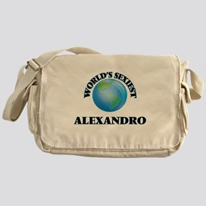 World's Sexiest Alexandro Messenger Bag