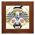 WooFDriver Pit Crew Framed Tile