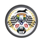 WooFDriver Pit Crew Wall Clock