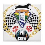 WooFDriver Pit Crew Tile Coaster