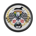 WooFDriver Pit Crew Large Wall Clock