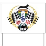 WooFDriver Pit Crew Yard Sign