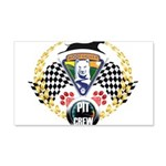 WooFDriver Pit Crew Wall Decal