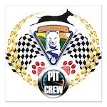 WooFDriver Pit Crew Square Car Magnet 3