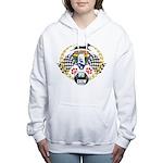WooFDriver Pit Crew Women's Hooded Sweatshirt