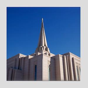 LDS Gilbert Temple Tile Coaster