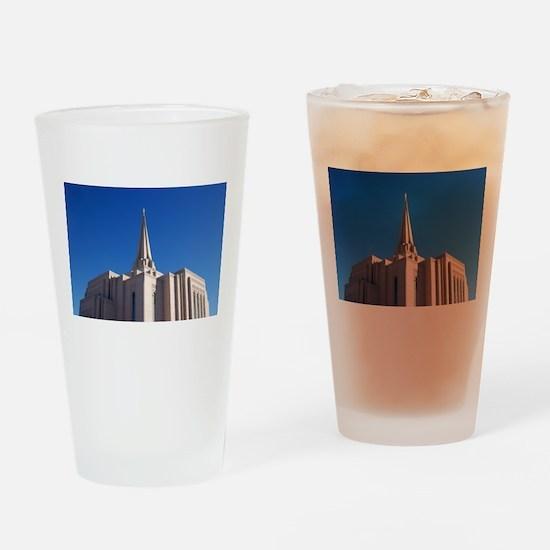 LDS Gilbert Temple Drinking Glass