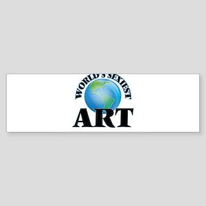 World's Sexiest Art Bumper Sticker
