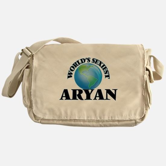 World's Sexiest Aryan Messenger Bag