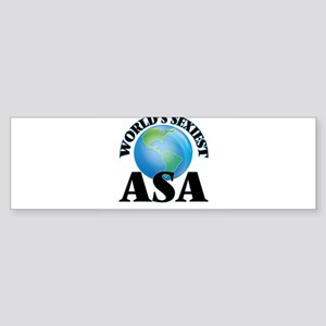 World's Sexiest Asa Bumper Sticker