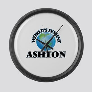 World's Sexiest Ashton Large Wall Clock
