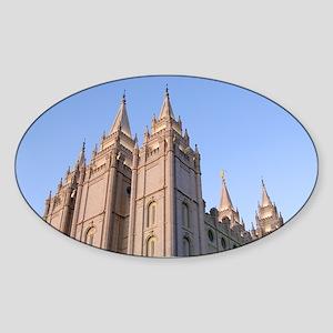 Salt Lake Temple Sunset Sticker
