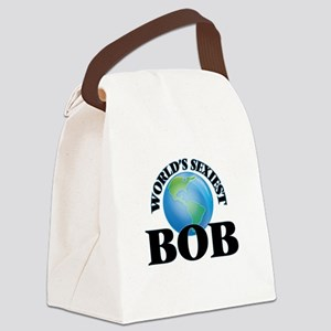 World's Sexiest Bob Canvas Lunch Bag